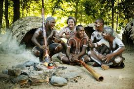 The Tjapukai people share 40,000 year old traditions